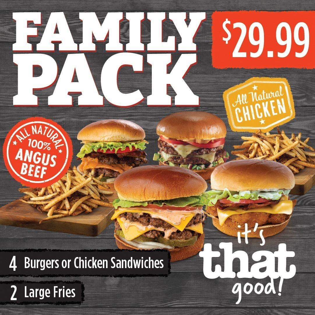 That Buger joint Family Pack (1)